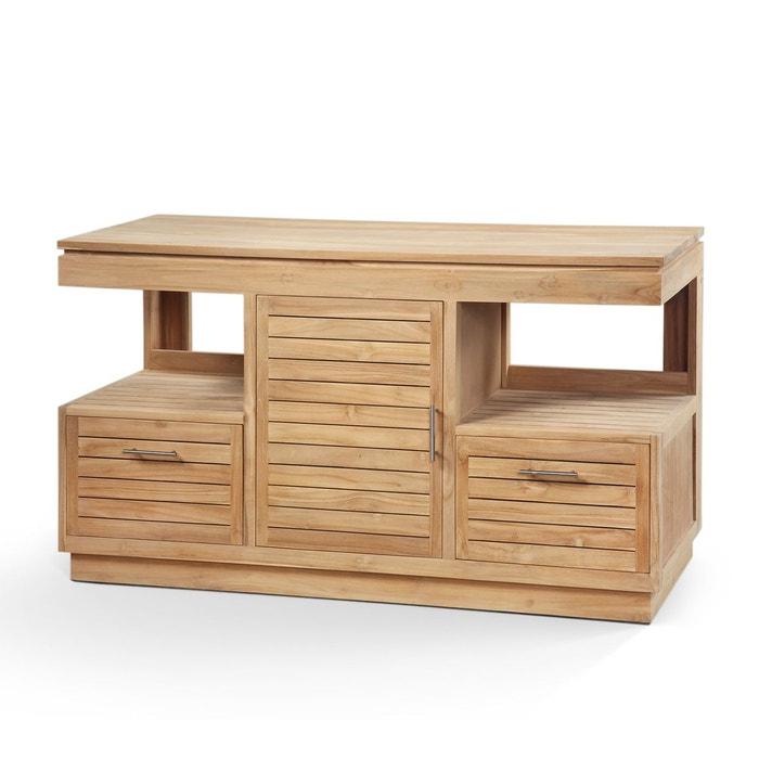 meuble de salle de bains bogor kha home design la redoute. Black Bedroom Furniture Sets. Home Design Ideas