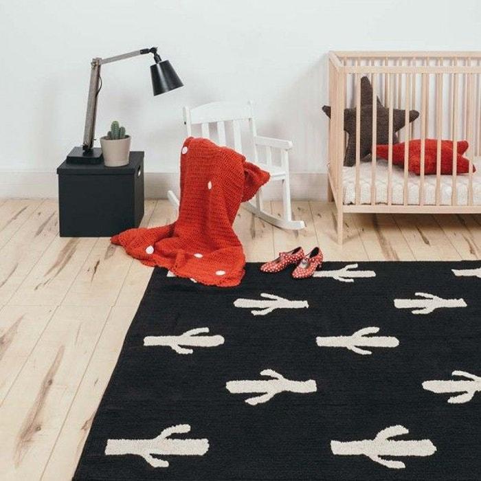 tapis enfant cactus stamp multicolore decoloopio la. Black Bedroom Furniture Sets. Home Design Ideas