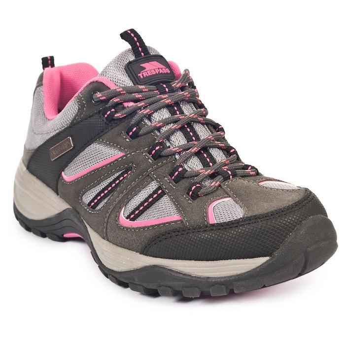 a5f82b8d88d Jamima - chaussures baskets de randonnée - femme gris Trespass