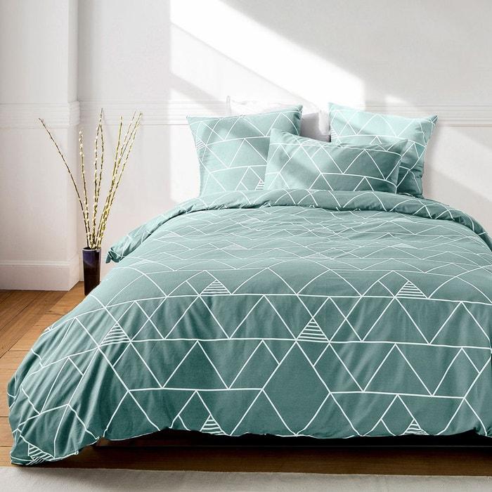 housse de couette odin bleu nordique la redoute interieurs la redoute. Black Bedroom Furniture Sets. Home Design Ideas