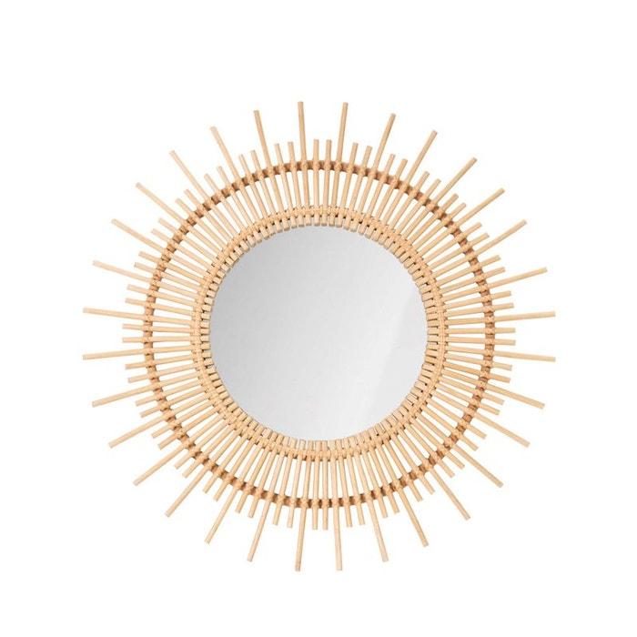 Miroir rond en rotin Cocora  DRAWER image 0