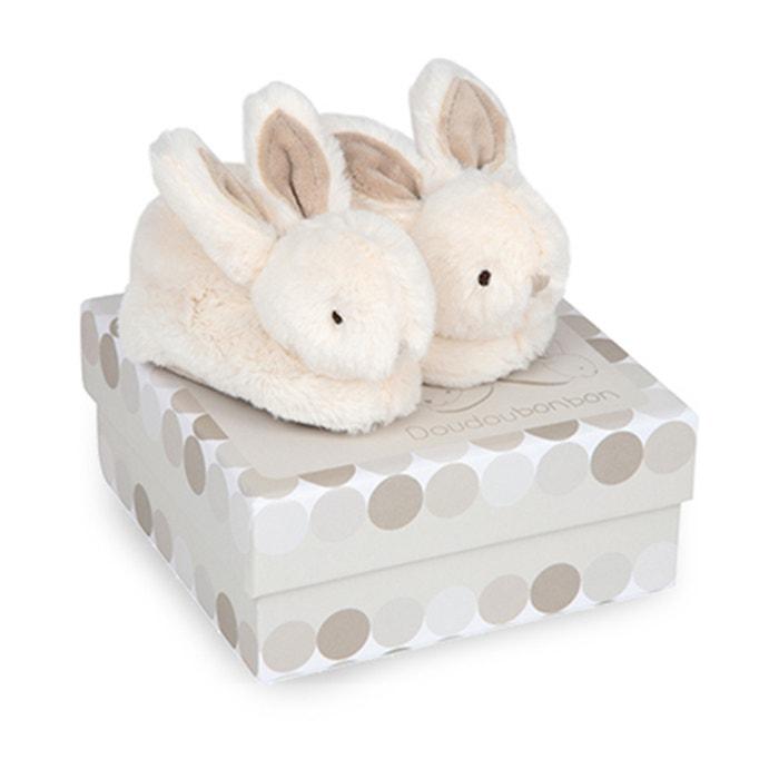 Le mie piccole pantofole Lapin bonbon - DC1310  DOUDOU ET COMPAGNIE image 0