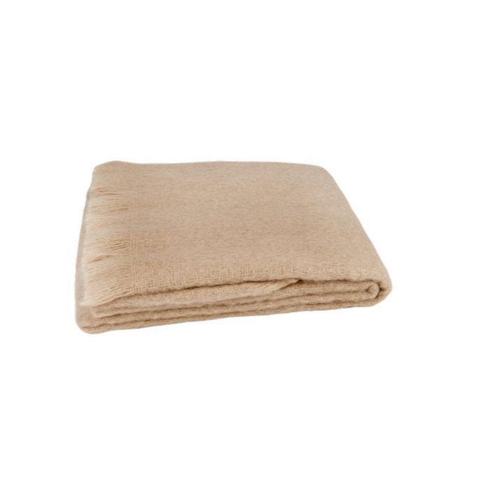 plaid en laine mohair franges home maison la redoute. Black Bedroom Furniture Sets. Home Design Ideas