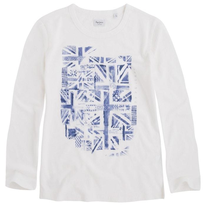 Long-Sleeved Printed T-Shirt