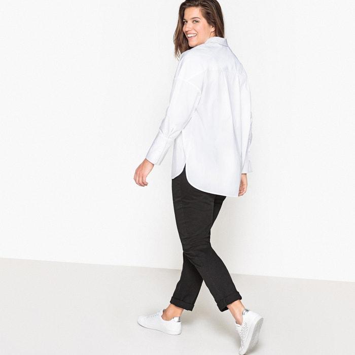 Castaluna Camisa lisa de manga larga con corte oversize EfFOI