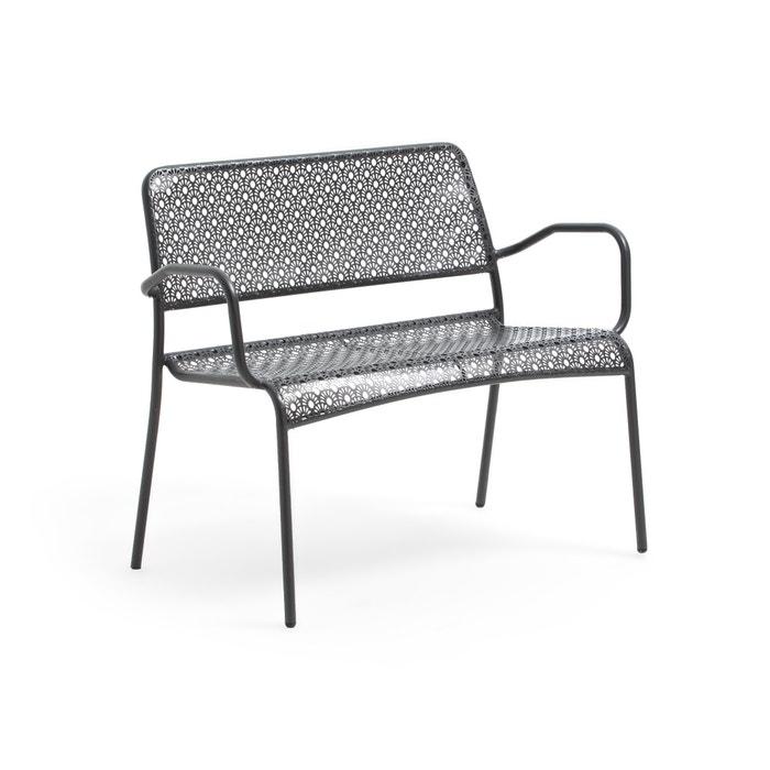 Fantastic Malmo Metal Openwork 2 Seater Garden Bench Beatyapartments Chair Design Images Beatyapartmentscom