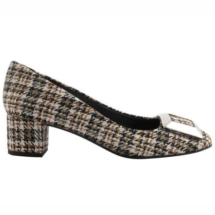 Chaussures à talons agathe multicolore Exclusif Paris Magasin De Jeu De La Vente En Ligne Pas Cher Vente En Ligne Vente Sneakernews Livraison Rapide Pas Cher 7GV9TOL
