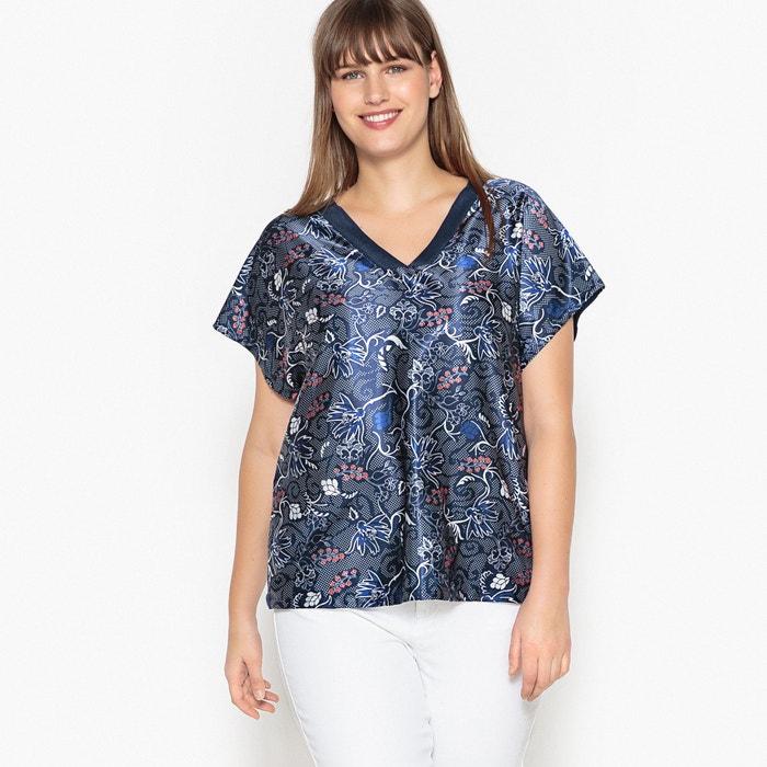 2 in 1 Satin Printed Front T-Shirt  CASTALUNA image 0