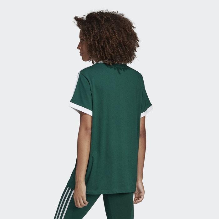 df4d66fdb74 T-shirt 3-stripes vert Adidas Originals