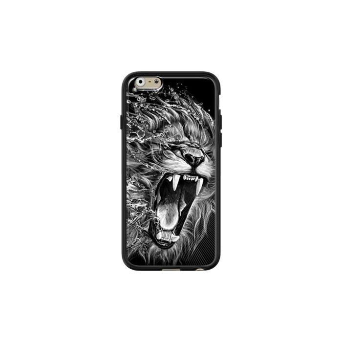 coque iphone 6 silicone lion