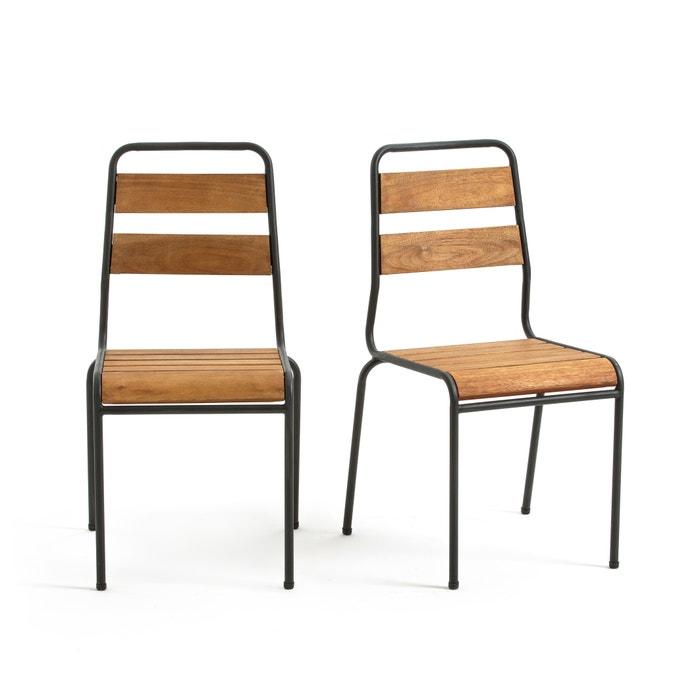 Set of 2 Juragley Garden Chairs  La Redoute Interieurs image 0