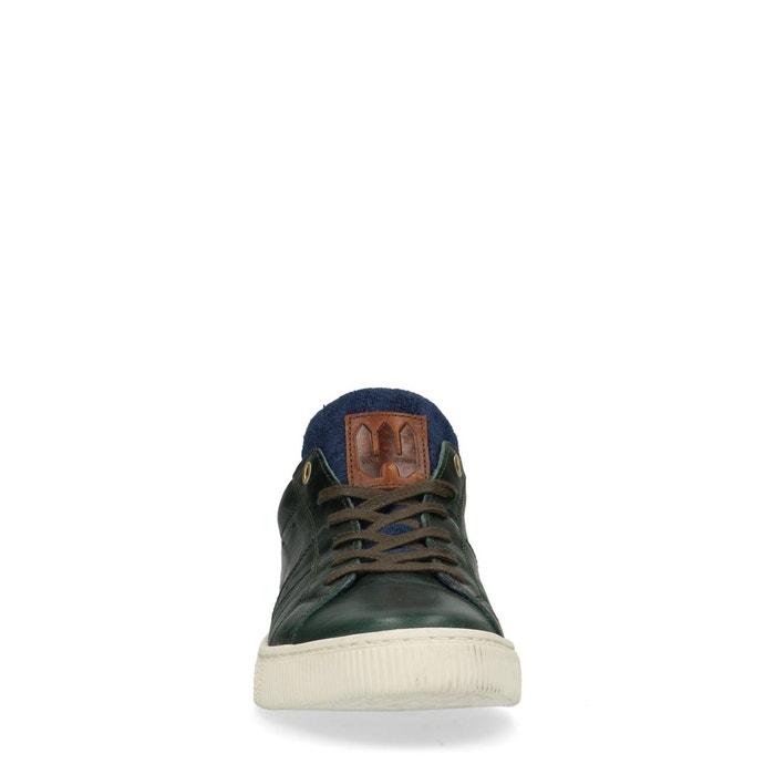 Baskets avec détail vert Sacha