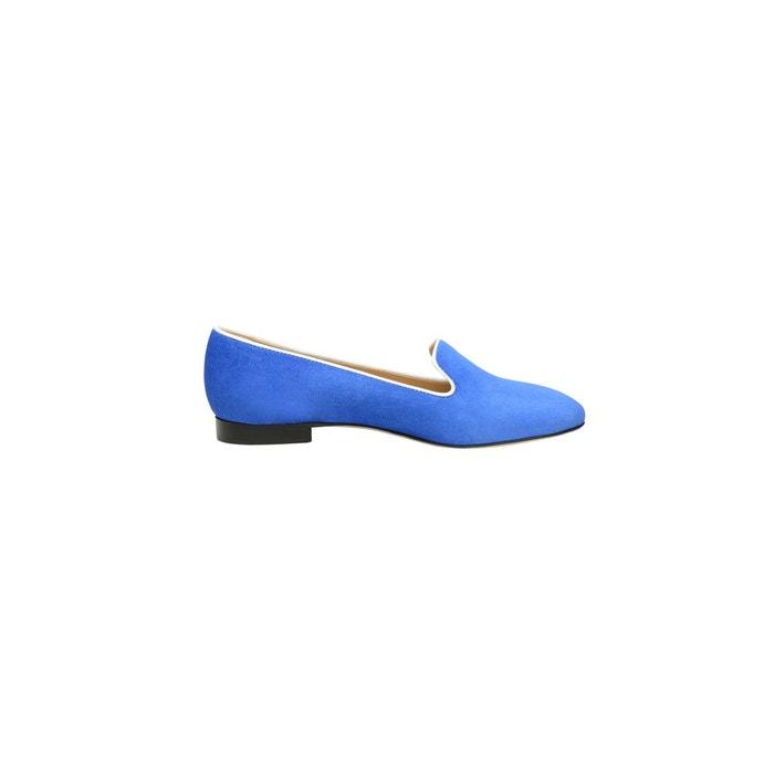 Loafer en velours bleu bleu Shoepassion