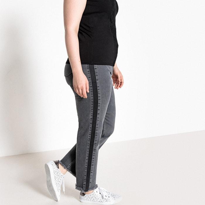 Jeans slim 7/8, fasce laterali  CASTALUNA image 0