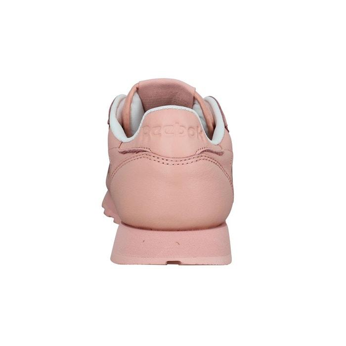 Baskets cl lthr pastels rose Reebok