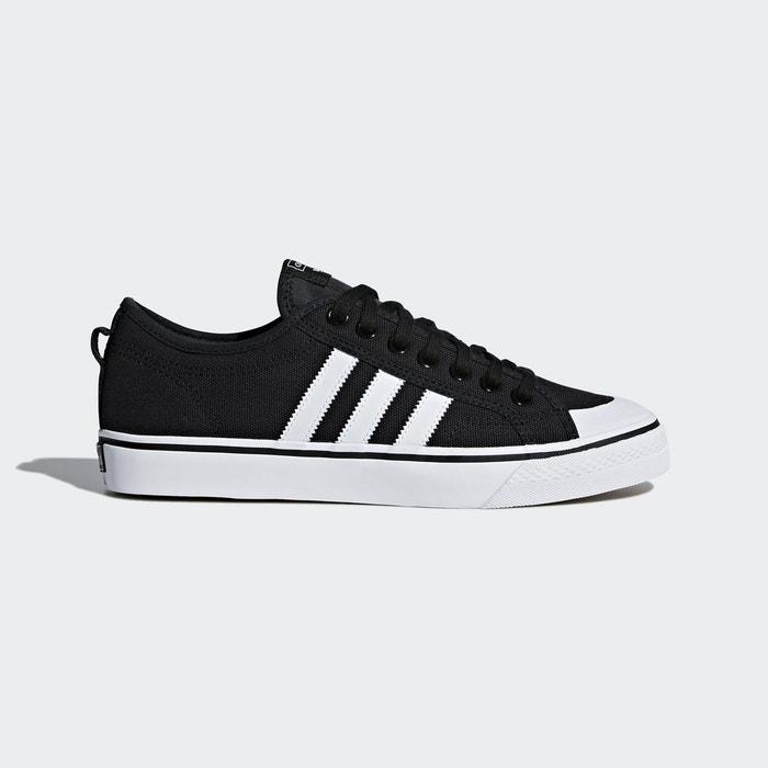 f0d7a3cf375d Baskets nizza noir Adidas Originals | La Redoute