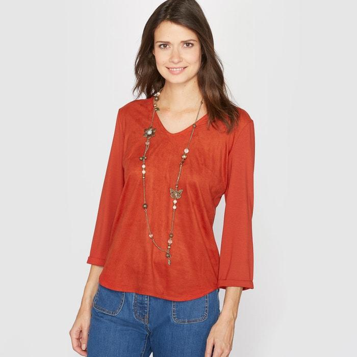 Image T-shirt, due tessuti ANNE WEYBURN