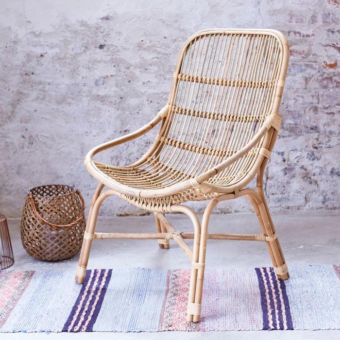 fauteuil en tige de rotin pia naturel rotin tikamoon la redoute. Black Bedroom Furniture Sets. Home Design Ideas