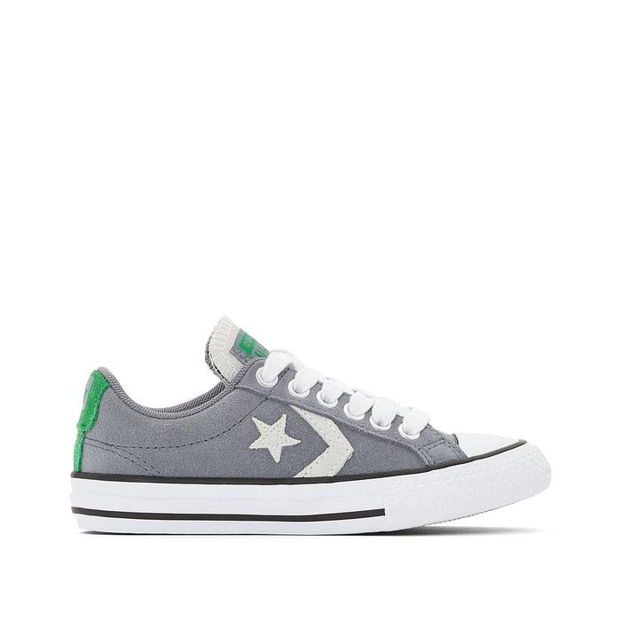 e9be07bbf8c Zapatillas star player suede gris Converse