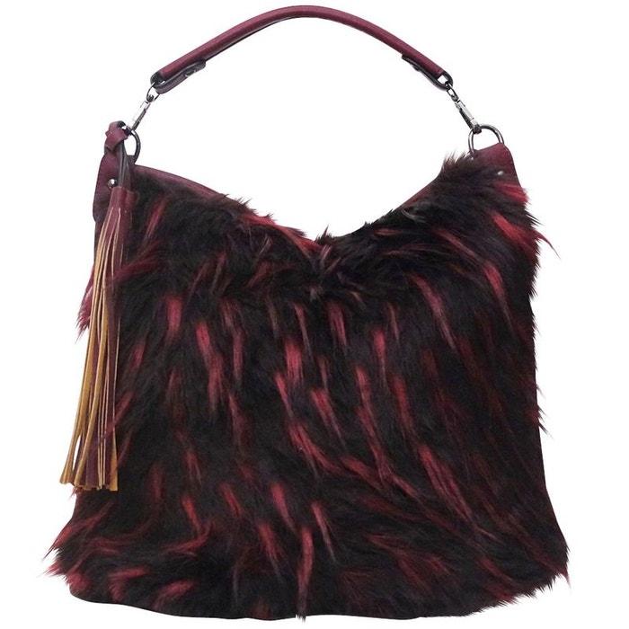 offre prix favorable faire les courses pour sac a main fourrure lia