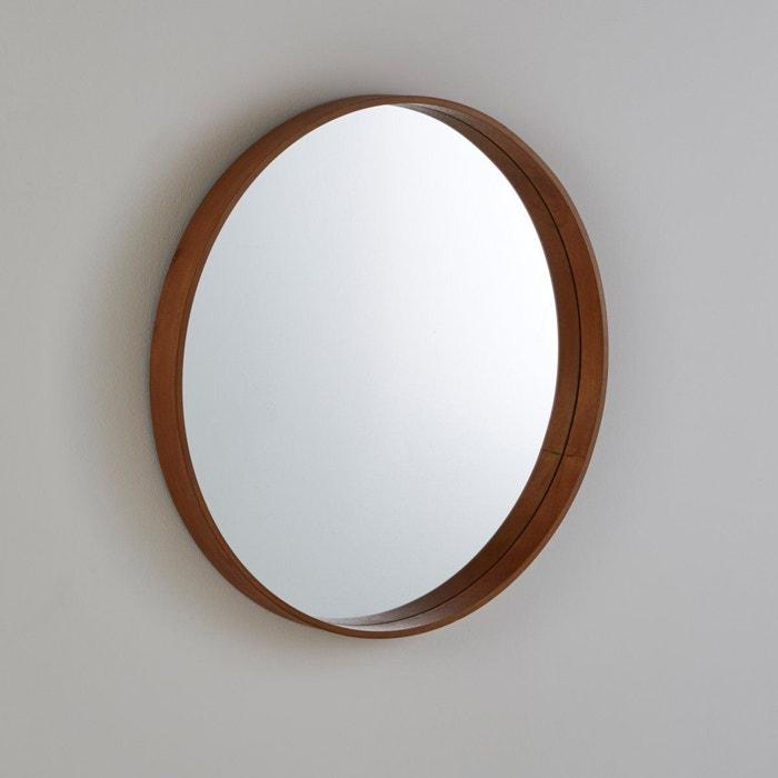 Miroir alaria noyer la redoute interieurs la redoute for La redoute tapis salle de bain