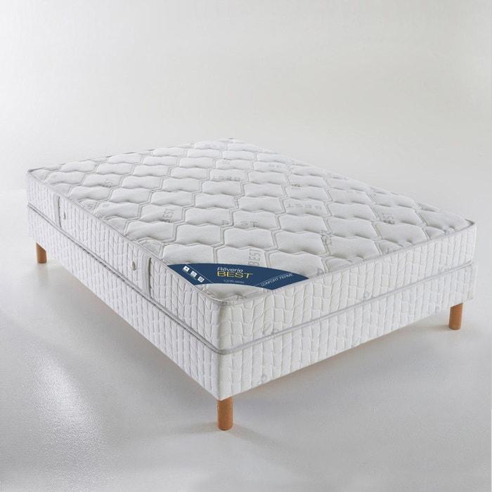 matelas latex confort ferme haut 20 cm blanc reverie. Black Bedroom Furniture Sets. Home Design Ideas