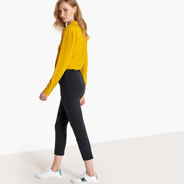 Pantaloni 7/8 pieghe stirate  La Redoute Collections image 0