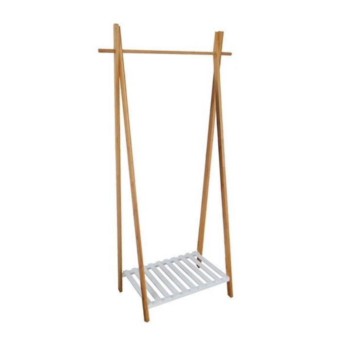 portant scandinave en bois nagano bois clair compactor. Black Bedroom Furniture Sets. Home Design Ideas
