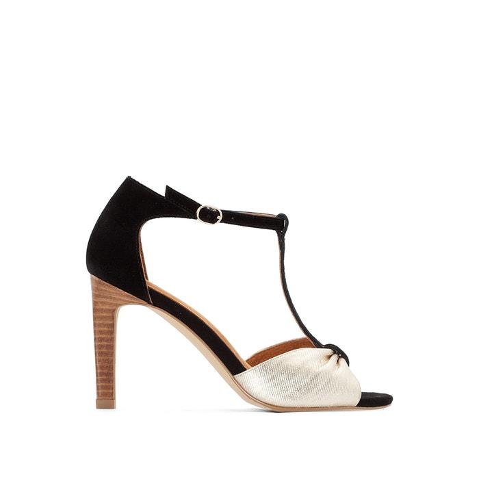 Sandali pelle fascia dorata  La Redoute Collections image 0