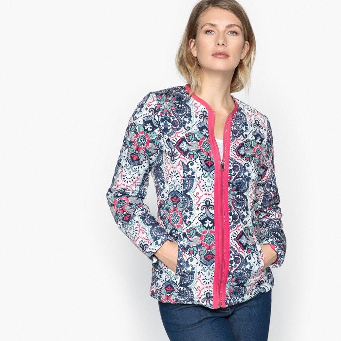 Printed Quilted Jacket  ANNE WEYBURN image 0