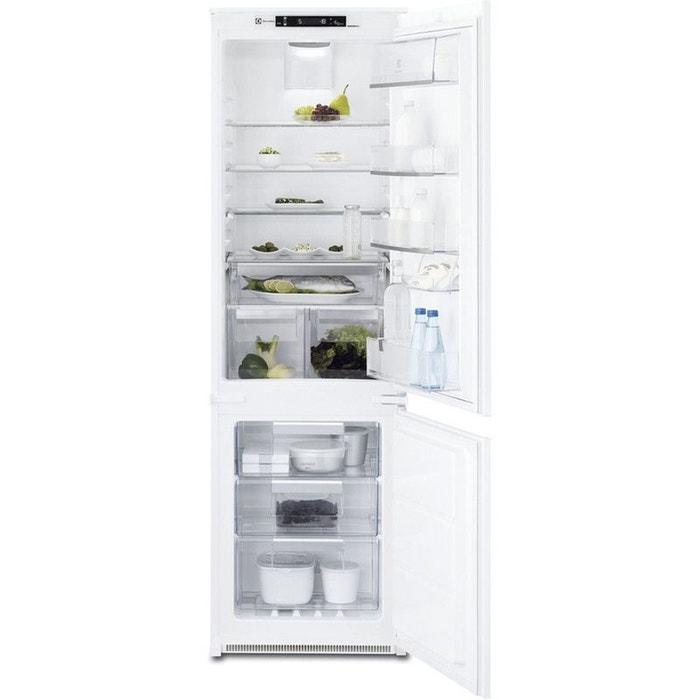 refrigerateur congelateur encastrable enn2854cow blanc electrolux la redoute. Black Bedroom Furniture Sets. Home Design Ideas