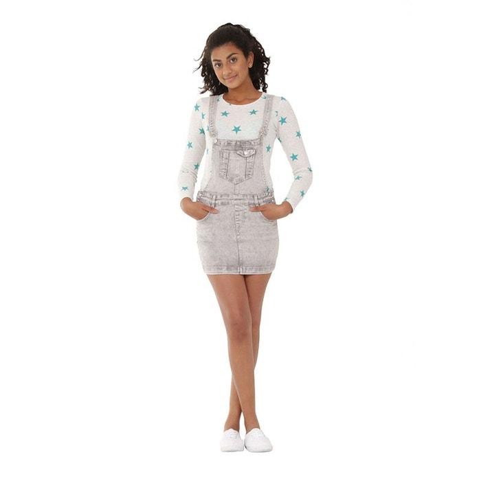 d5c5546c018e27 Salopette jupe en jean