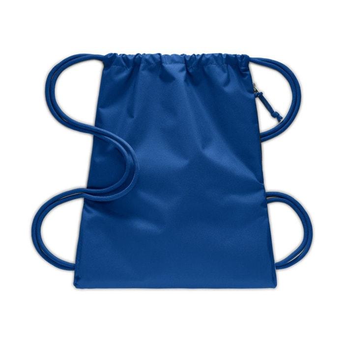85469e5d986 Rugzak koord heritage gym sack blauw/rood Nike   La Redoute
