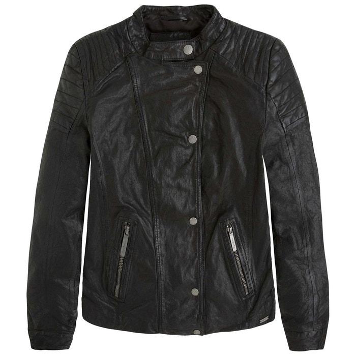 blouson style motard poches rocky pepe jeans la redoute. Black Bedroom Furniture Sets. Home Design Ideas