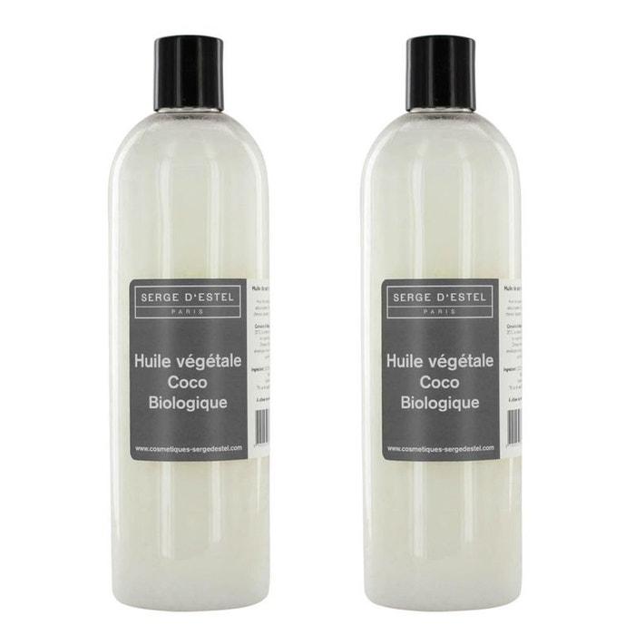huile de coco bio 1l 100 pure huile de soin peaux s ches cheveux secs couleur unique serge. Black Bedroom Furniture Sets. Home Design Ideas