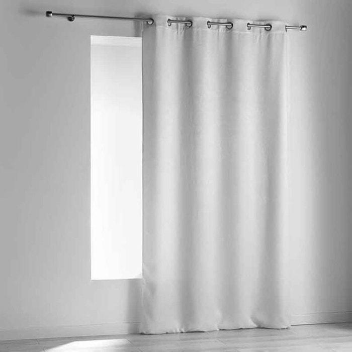 rideau occultant effet velours peau home maison la redoute. Black Bedroom Furniture Sets. Home Design Ideas