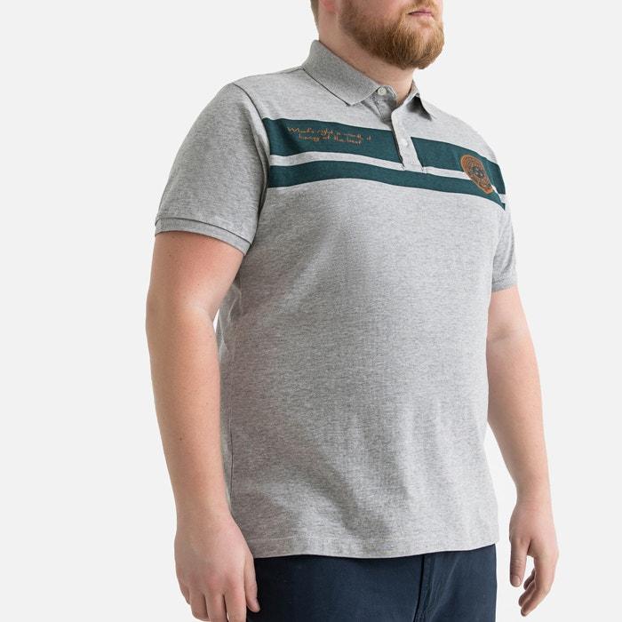 78664eda Short-sleeved polo shirt , grey marl, Castaluna Men'S Big & Tall ...