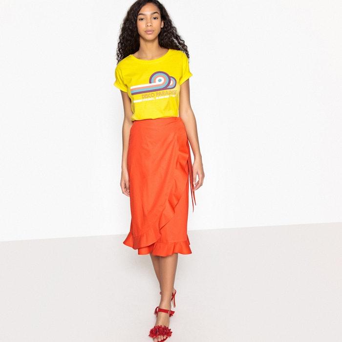 """Imagen de Camiseta estampado """"discoparadise"""", 100% algodón La Redoute Collections"""