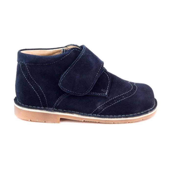 expédition gratuite soldes gamme exclusive Boni Albert - Chaussures Garçon cuir scratch