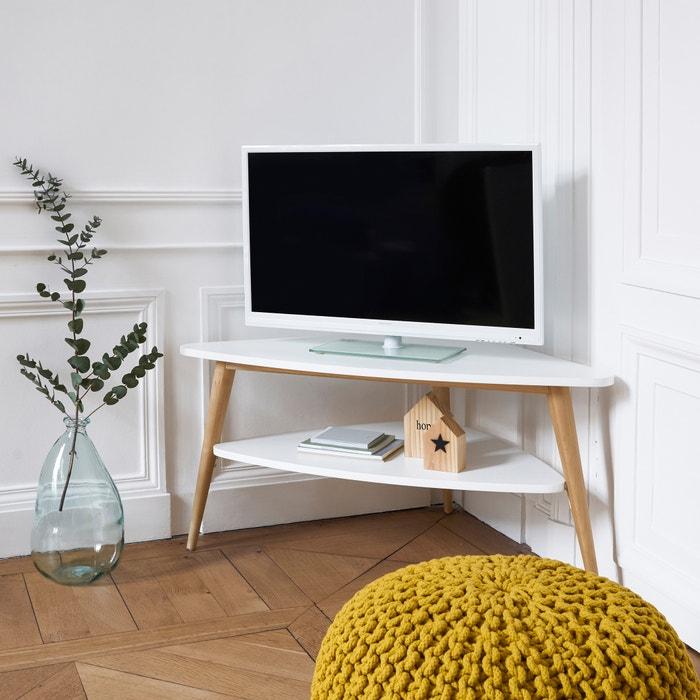 Tv Möbel Jimi Ecklösung Vintage Stil Weiss La Redoute Interieurs