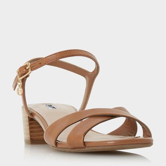 Sandales à talons carrés - jazzy  Dune London  La Redoute