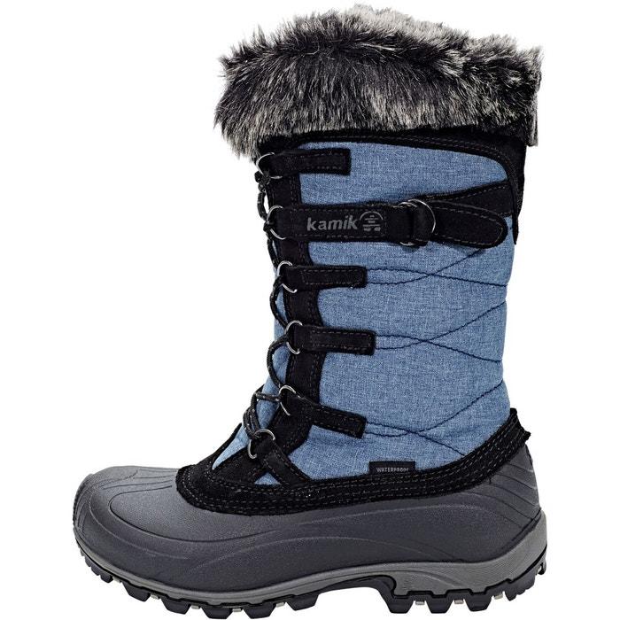 Snowvalley - bottes femme - bleu/noir jeans Kamik