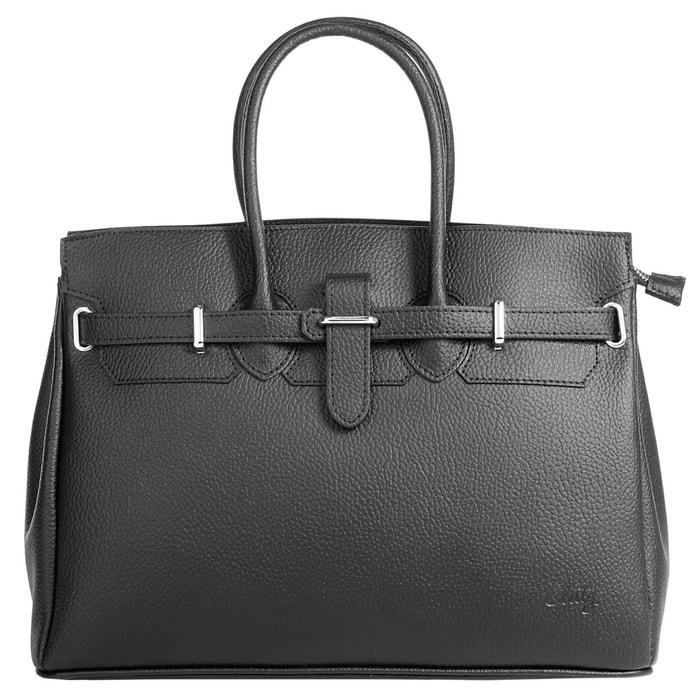 Remises Vente En Ligne Sac shopping. noir Cluty   La Redoute Large Éventail De Ordre De Vente Acheter Pas Cher Fiable KLGTU1OwAa
