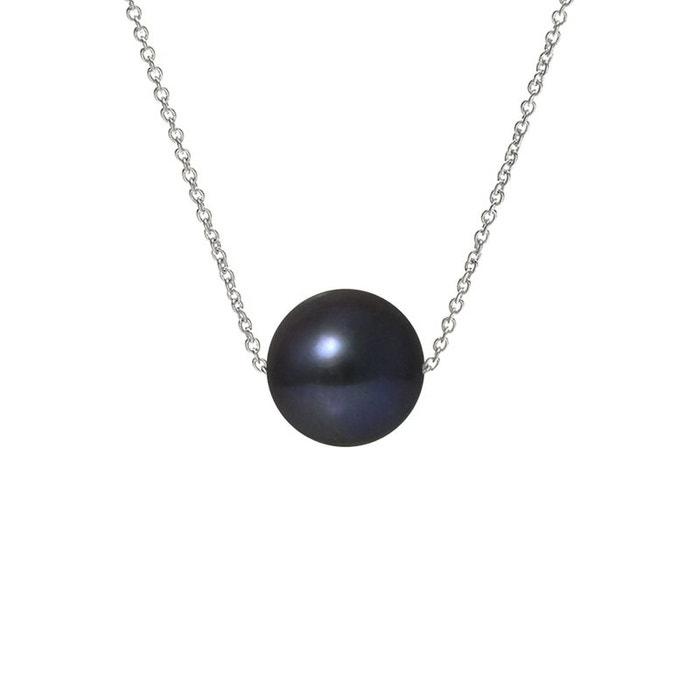 Collier chaine or 375°°° véritable perle noir Perlinstinct | La Redoute Offres De Livraison Gratuite Sortie Pas Cher Livraison Gratuite Fiable vxBqAqOQh