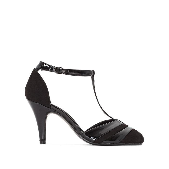 Wide-Fit T-Strap Heels, Sizes 38-45  CASTALUNA PLUS SIZE image 0