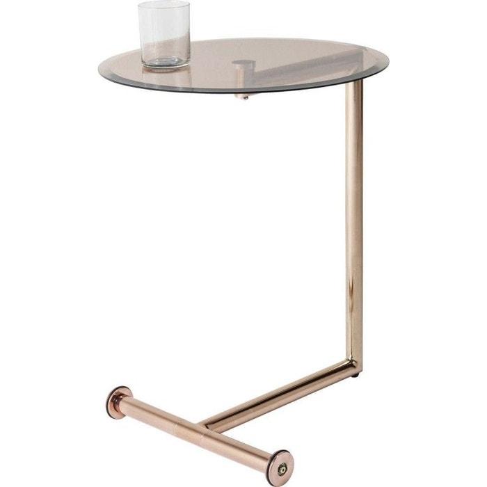 table d 39 appoint easy living cuivre kare design multicolore kare design la redoute. Black Bedroom Furniture Sets. Home Design Ideas