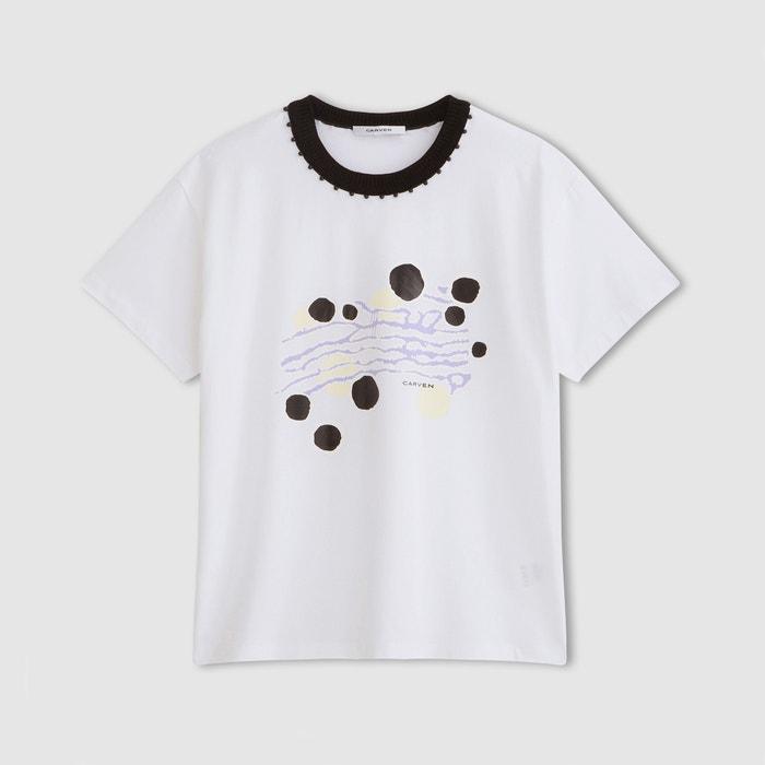 Image T-shirt à imprimé CARVEN