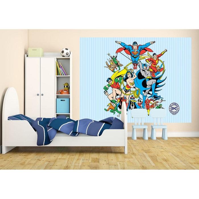 papier peint original dc comics multicolor walltastic la redoute. Black Bedroom Furniture Sets. Home Design Ideas
