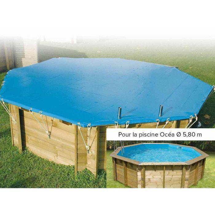 B che hiver pour piscine oc a ubbink 5 80 m couleur for Piscine autoportee la redoute