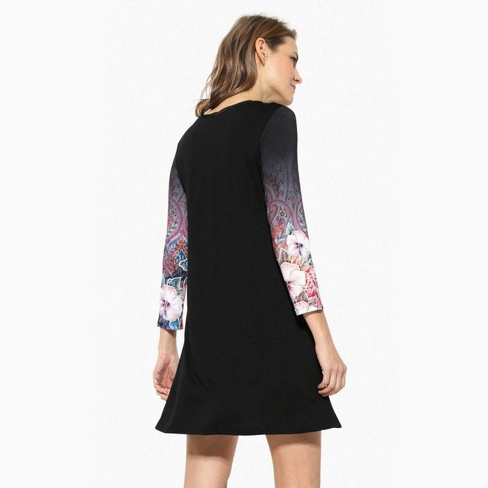 afbeelding Korte jurk met lange mouwen DESIGUAL